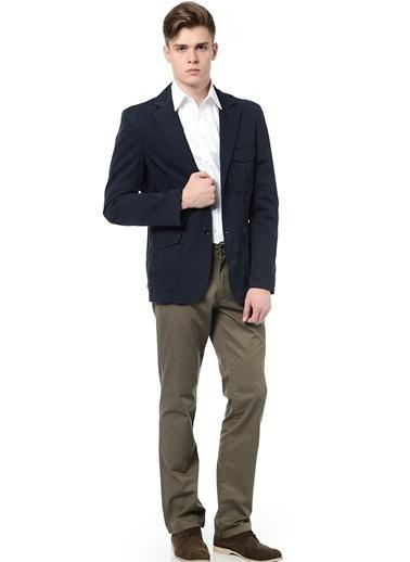 Asymmetry Klasik Pantolon Haki